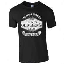 NEW Grumpy Old Men's Club T-Shirt